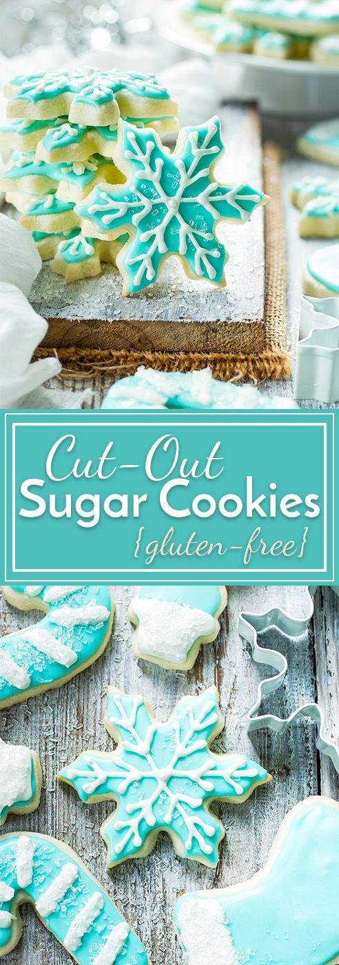 Cut Out Sugar Cookies (Gluten Free)