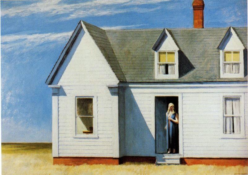 Meio-dia - Edward Hopper e suas principais pinturas ~ O pintor da solidão