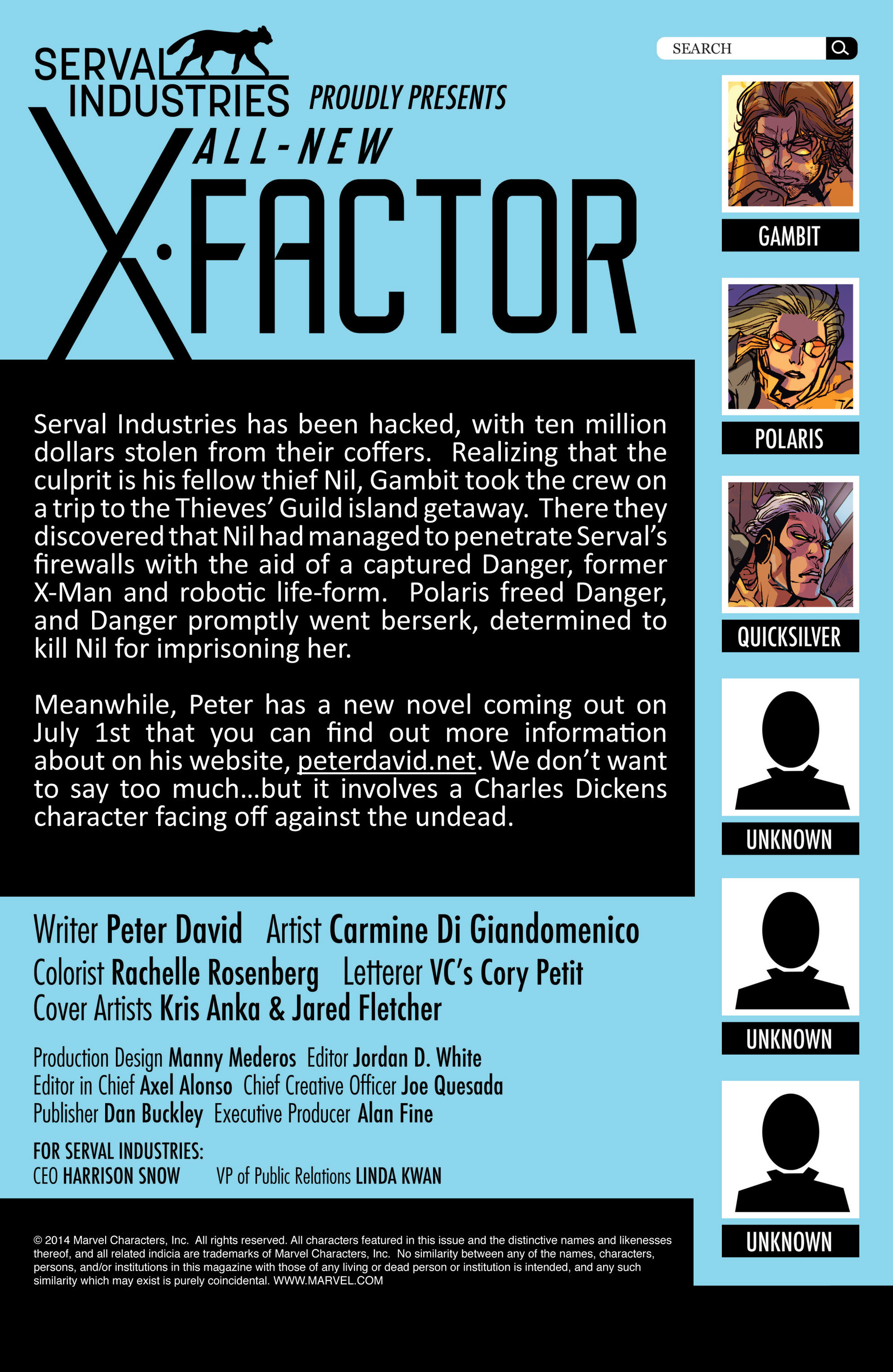 Read online All-New X-Factor comic -  Issue #4 - 2