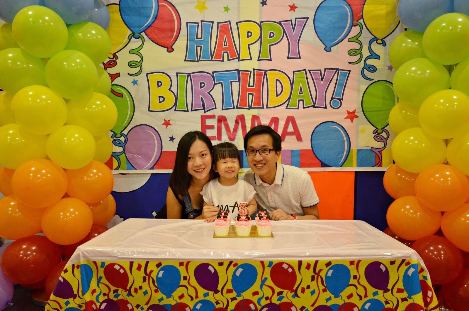 Ashlyn Thia Emmas 3rd birthday celebration Cool De Sac Indoor