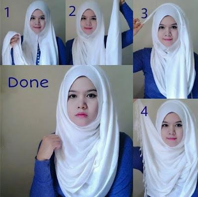 Tutorial Style Hijab Pashmina Basic Elegant