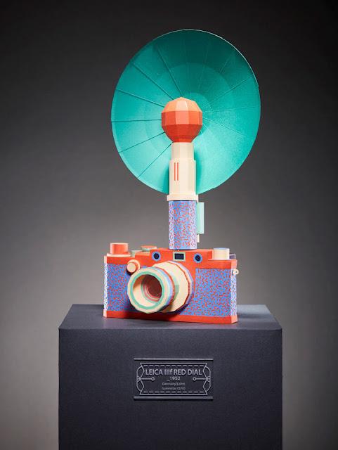 Cámaras clásicas Leica iiif Red Dial