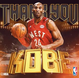 Kobe Bryant una despedida lleva de victorias