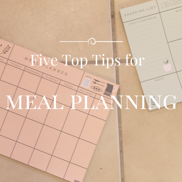 top meal planning tips