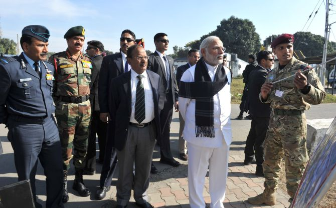 Narendra Modi Once again Ready to Face Pakistan in the Same Way
