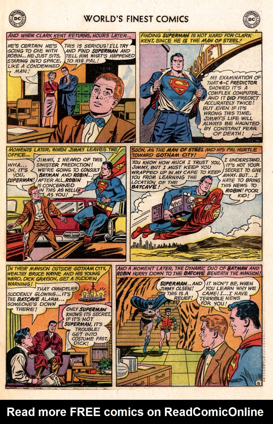 Read online World's Finest Comics comic -  Issue #141 - 7