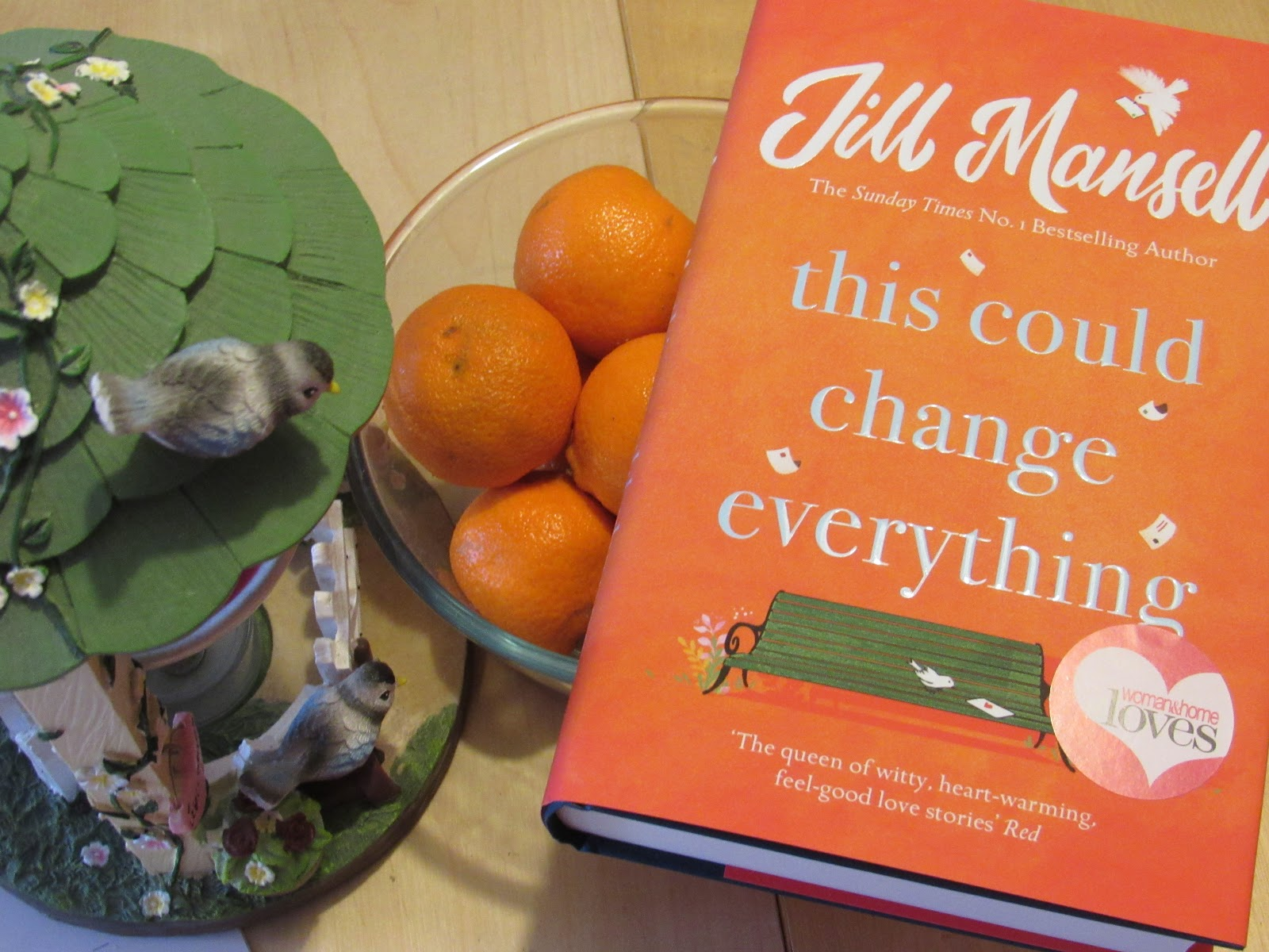 Blooming Fiction book review of This Could Change Everything by Jill Mansell