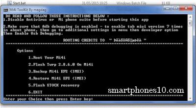 Cara Pasang TWRP Recovery di Xiaomi Mi4i