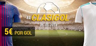 bwin El Clasigol: gana 5€ por cada gol 6 mayo