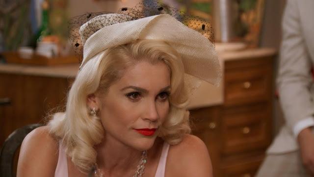 Figurino Sandra (Flavia Alessandra) Eta mundo bom, chapéu