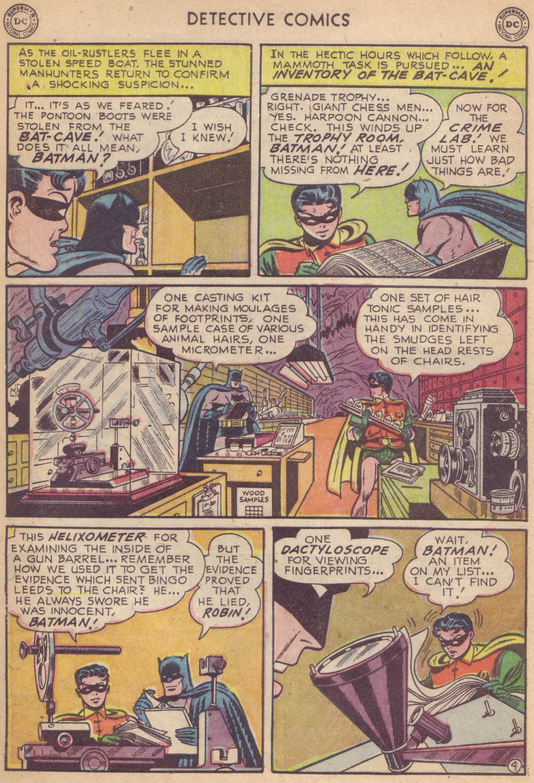 Read online Detective Comics (1937) comic -  Issue #177 - 6