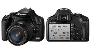 Spesifikasi Kamera Canon EOS 500D