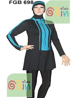 baju renang muslimah dewasa FGB 698