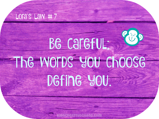 Quote: The Words You Choose, Define You Facebook