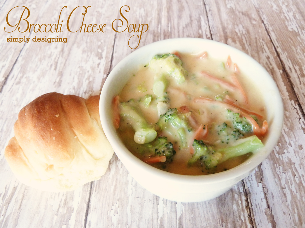 Broccoli Cheese Soup | #recipes #soup