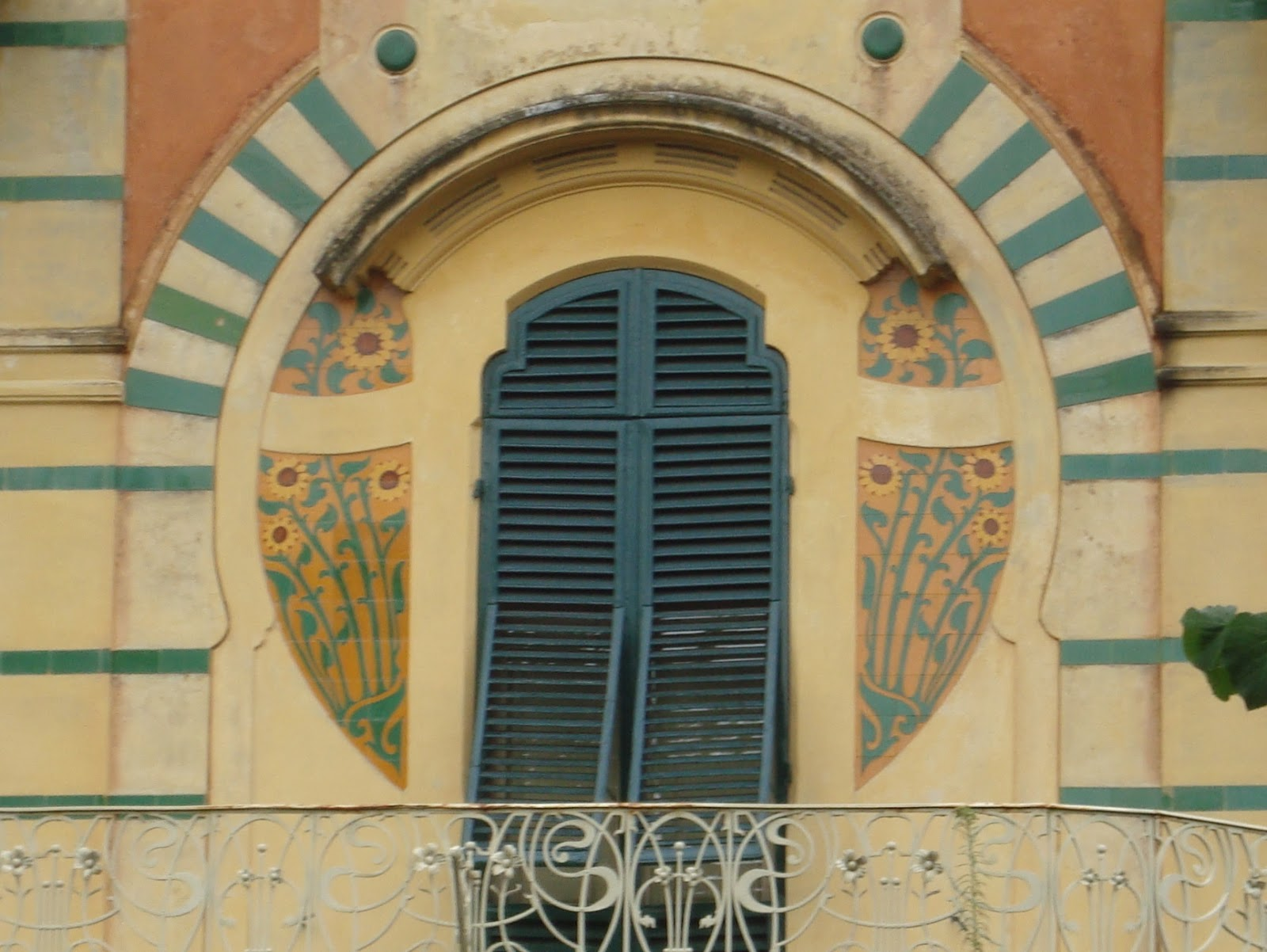 Paseos Art Nouveau: Villa Ducloz, n° 234 via Matteo Civitali