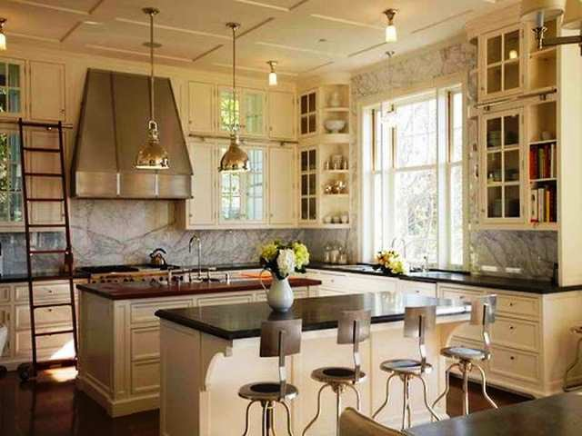 best wall paint color for antique white cabinets