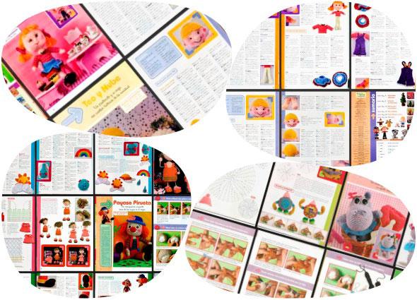 amigurimis revistas, gratis juguetes ganchillo, crochet patrones