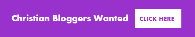 Christian bloggers wanted