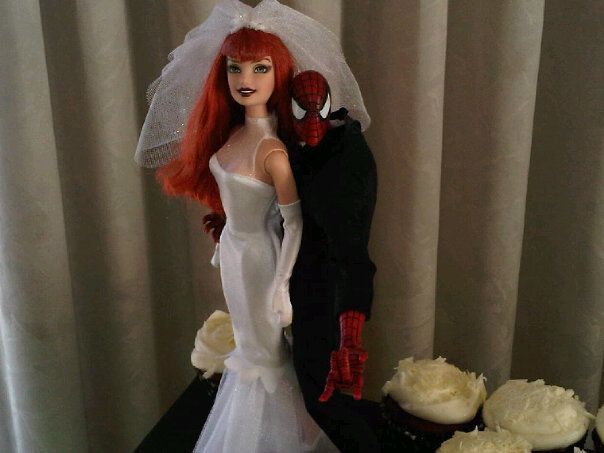 lily\'s Cakes And Breads: Unique Wedding Cakes Toppers : Spiderman ...