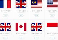 aplikasi nomor luar negeri