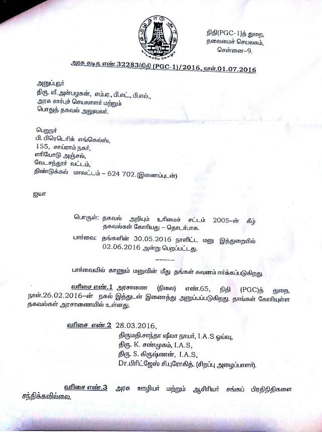 CPS-அரசு ஊழியர் மற்றும் ஆசிரியர்கள் சங்கப் பிரதிநிதிகளை சந்திக்கவில்லை -RTI-NEWS