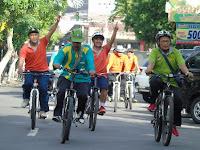 Kankemenag Kediri Gelar Sepeda Goes Tempuh 30 Kilometer