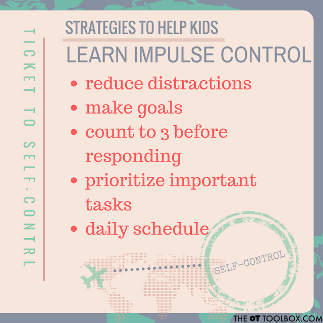 Strategies to help impulse control in the classroom