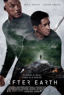 Menonton filem After Earth