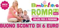 Logo Bimbi in Fiera: scarica il buono sconto da 6 euro