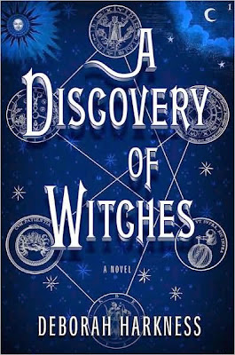 A Discovery of Witches by Deborah Harkness - book cover