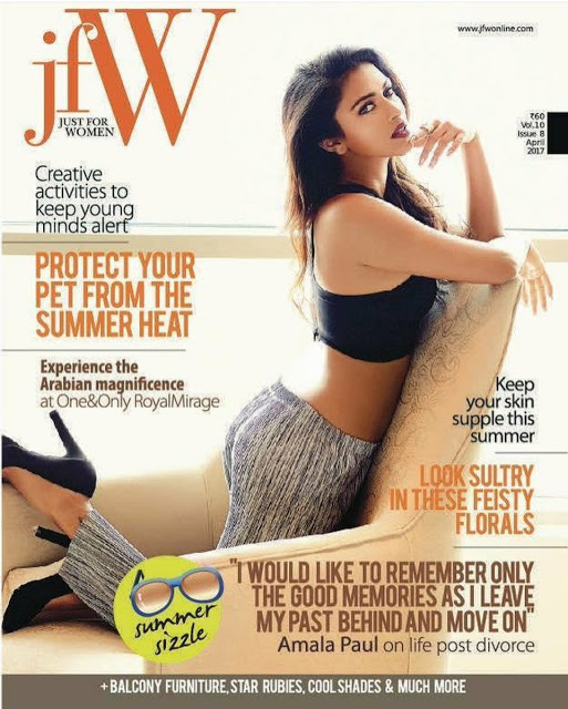 Amala Paul JFW Magazine Hot photoshoot 2017