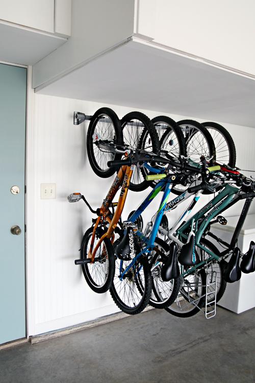 Garage Update Family Bike Storage Iheart Organizing