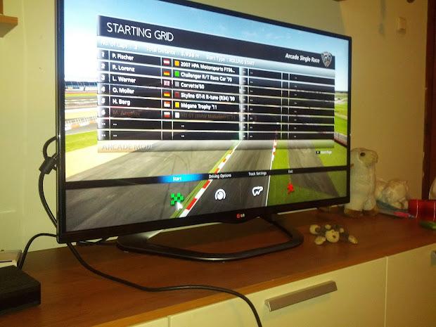 Lg 42la660s 42- 3d Led Smart Tv - Test