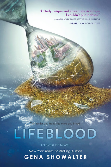 Portada OFICIAL de Lifeblood (Everlife, #2)