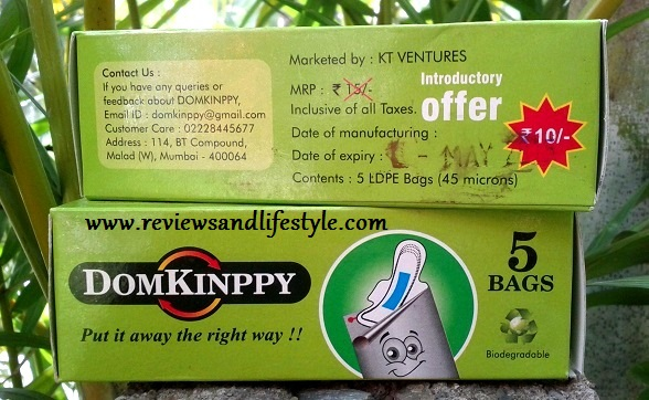 Domkinppy Biodegradable Sanitary Napkins Disposal Bags Privyshop