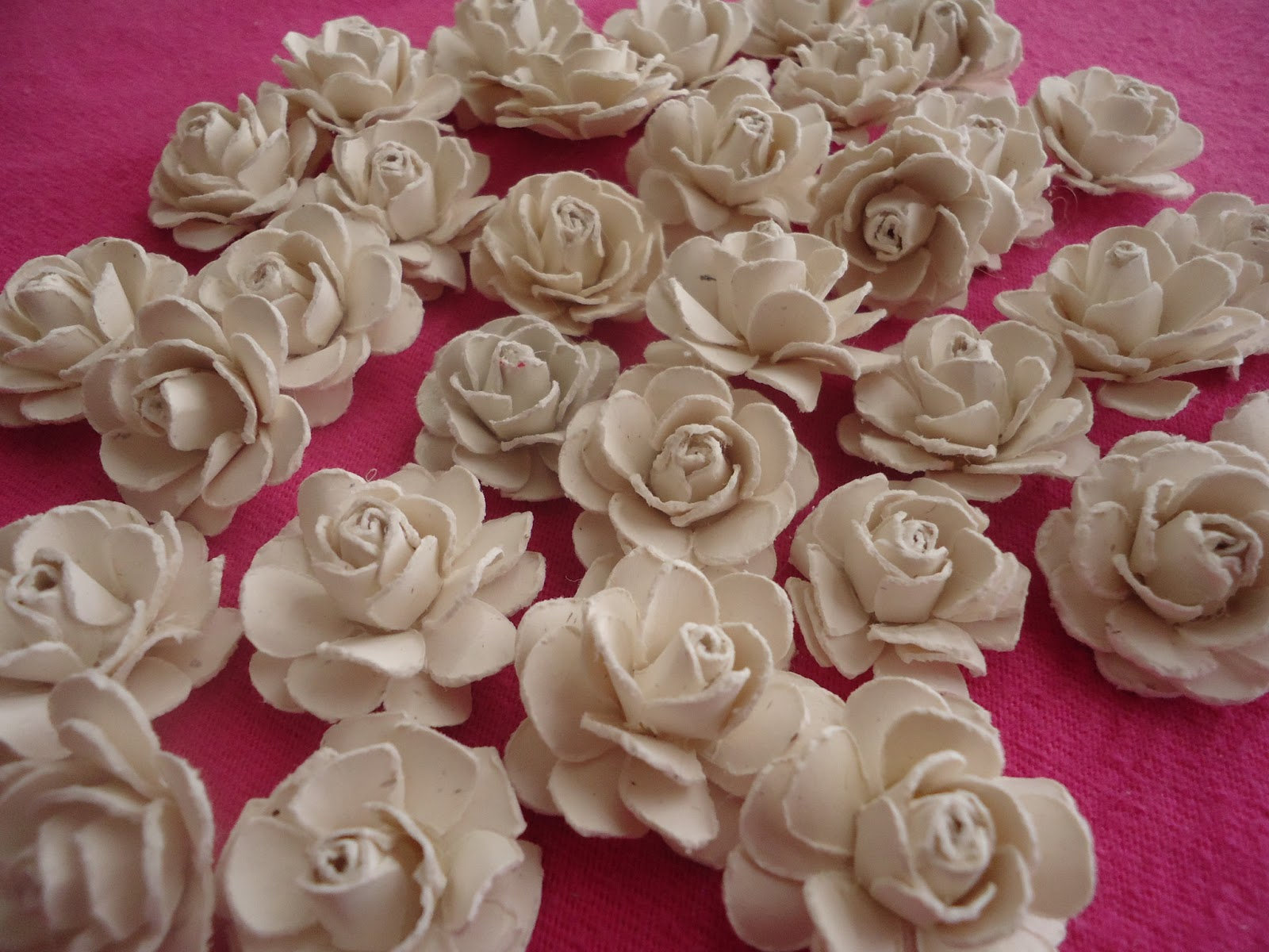 how to prepare paper rose flower