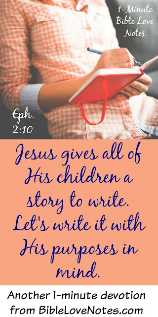 Ephesians 2:10, Share your story about salvation, witness, evangelism