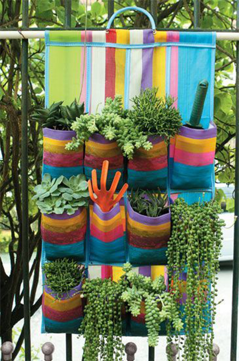 Meio Ligado Lindas ideias para jardim suspenso e jardim vertical