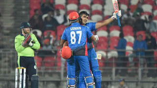 Afghanistan Creates History by Posting Highest Ever T20 International Score