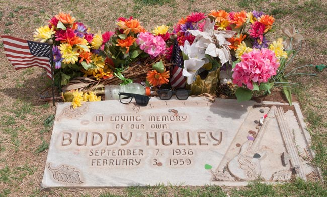 One Dusty Track Postcard From Lubbock Buddy Holly