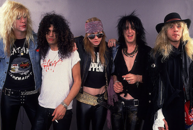 Guns N' Roses original members