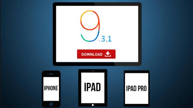 رسميا أبل تطلق التحديث iOS 9.3.1 مع حل لمشكلة الروابط
