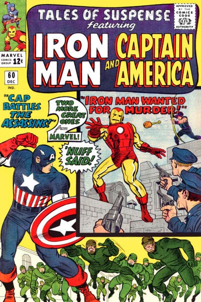 Tales of Suspense #60, Iron Man and Captain America