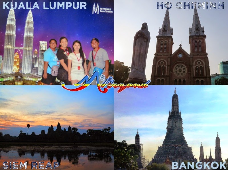 KUALA LUMPUR – HO CHI MINH – SIEM REAP – BANGKOK TRIP; southeast asia backpacking, southeast asia itinerary