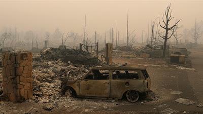 حرائق غابات فى كاليفورنيا