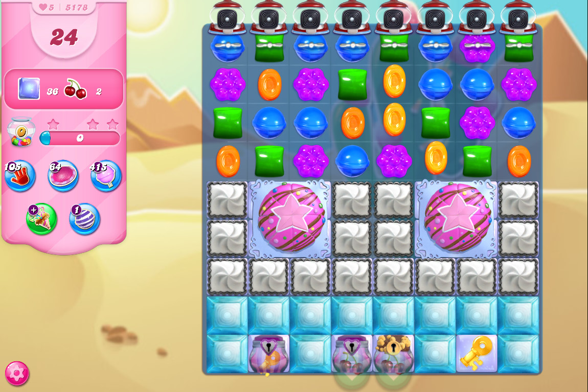 Candy Crush Saga level 5178