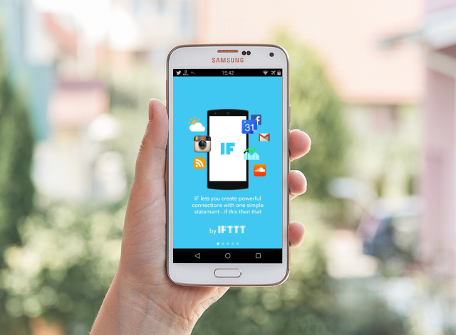 get%2B(1) IFTTT : Getting the internet to work for you Apps