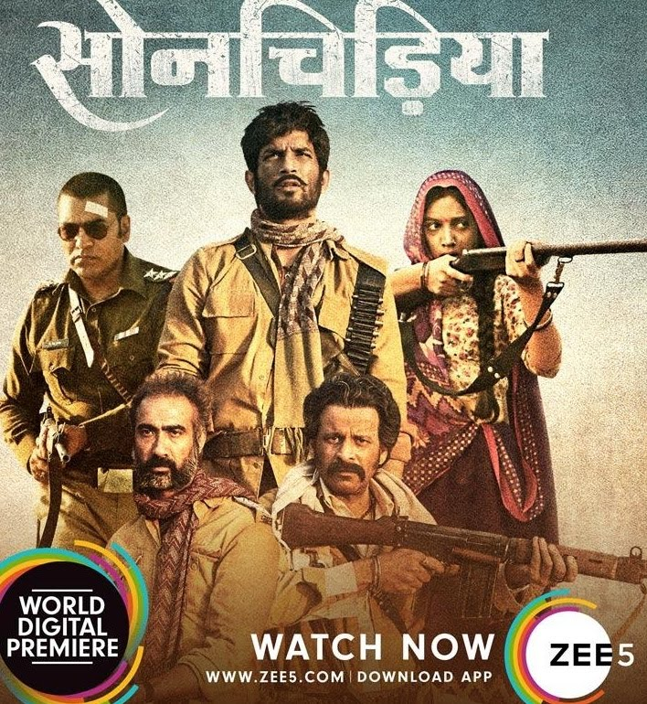 Sonchiriya (2019) full hd Hindi 480p WEB-DL 400MB