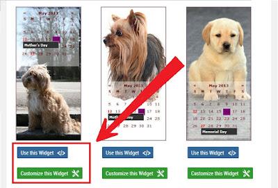 Cara Membuat Widget Kalender Keren Di Blogspot